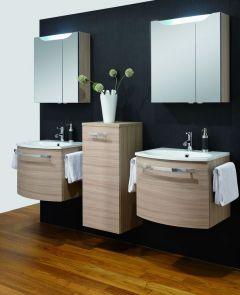 Marlin 3090 Set-Meubles de salle de bains, 60 cm