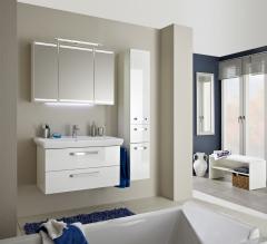 Pelipal Pineo Set-Meubles de salle de bain, 90 cm
