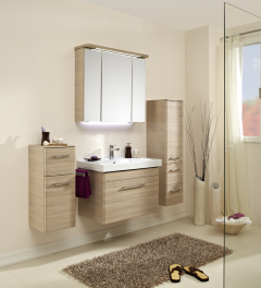 Pelipal Pineo Set-Meubles de salle de bain, 80 cm