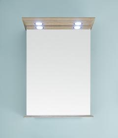 Pelipal SOLITAIRE 9030 Armoire de toilette avec éclairage LED dans la corniche, 50 cm