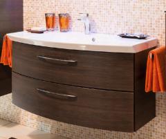 Pelipal Cassca Meuble sous plan de toilette, 2 tiroirs, 100 cm