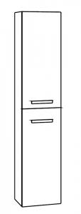Marlin Motion Colonne haute, 2 portes, 30 cm