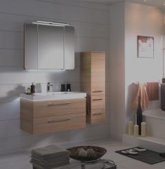 Pelipal Balto Set-Meubles de salle de bain, 90 cm
