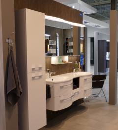Marlin 3090 Set-Meubles de salle de bains, double vasque, 150 cm