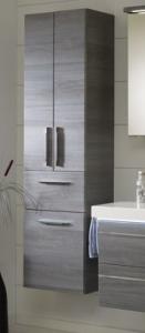 Pelipal Balto Colonne avec panier à linge, 2 portes, 1 tiroir, 45 cm