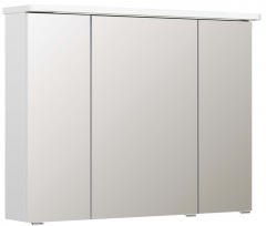 Pelipal Balto Armoire de toilette avec éclairage LED dans la corniche, 85 cm