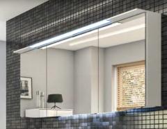 Pelipal Cassca Armoire de toilette y c. éclairage LED dans la corniche, 140 cm