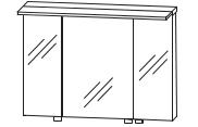 Puris Star Line Armoire de toilette avec éclairage LED de surface, 90 cm