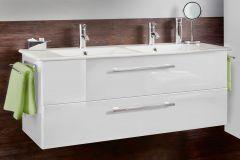 Marlin Christall Sous-vasque, 2 tiroirs, 116 cm